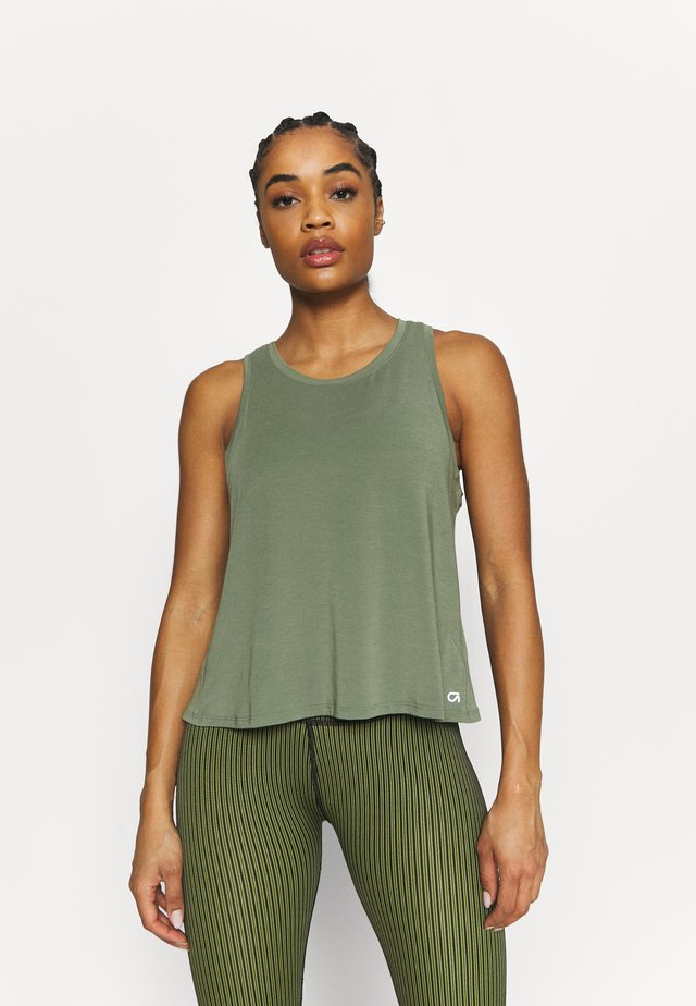 BREATHE WRAP BACK TANK - Top - desert cactus