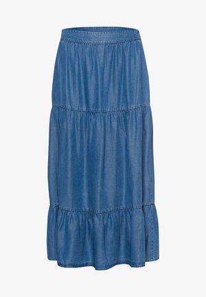 Maxi skirt - blue denim