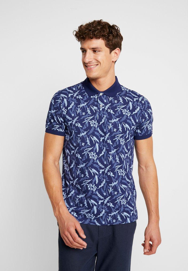 GANT - RUGGER - Koszulka polo - persian blue