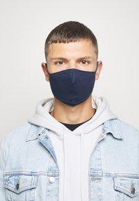 Zign - 5 PACK - Masque en tissu - dark blue - 3