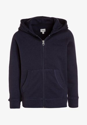 ZIP THRU GIRLS - veste en sweat zippée - navy