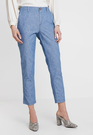 V-GIRLFRIEND  - Chinosy - indigo chambray