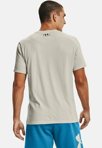 Under Armour - LOCKERTAG  - Print T-shirt - summit white - 2