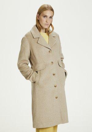 Classic coat - frappé melange