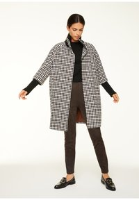 comma - Classic coat - black camel houndstooth - 0