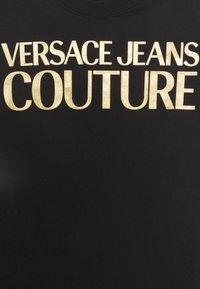 Versace Jeans Couture - LADY - Triko spotiskem - black/gold - 7
