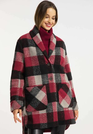 Short coat - chili red