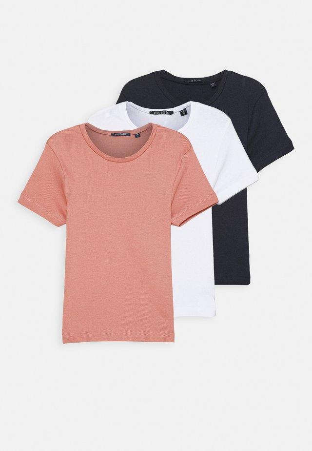TEEN GIRL T-SHIRT MULTIPACK  3 - Print T-shirt - weiss