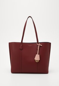 Tory Burch - PERRY TRIPLE COMPARTMENT TOTE - Velká kabelka - tinto - 0