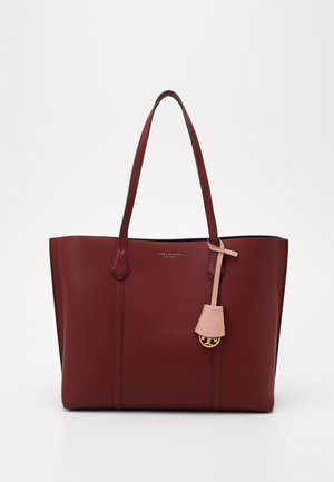 PERRY TRIPLE COMPARTMENT TOTE - Shopping bag - tinto