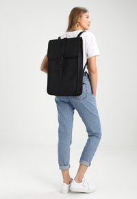 Rains - BACKPACK - Reppu - black - 4