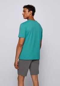 BOSS - TALES - Basic T-shirt - turquoise - 2