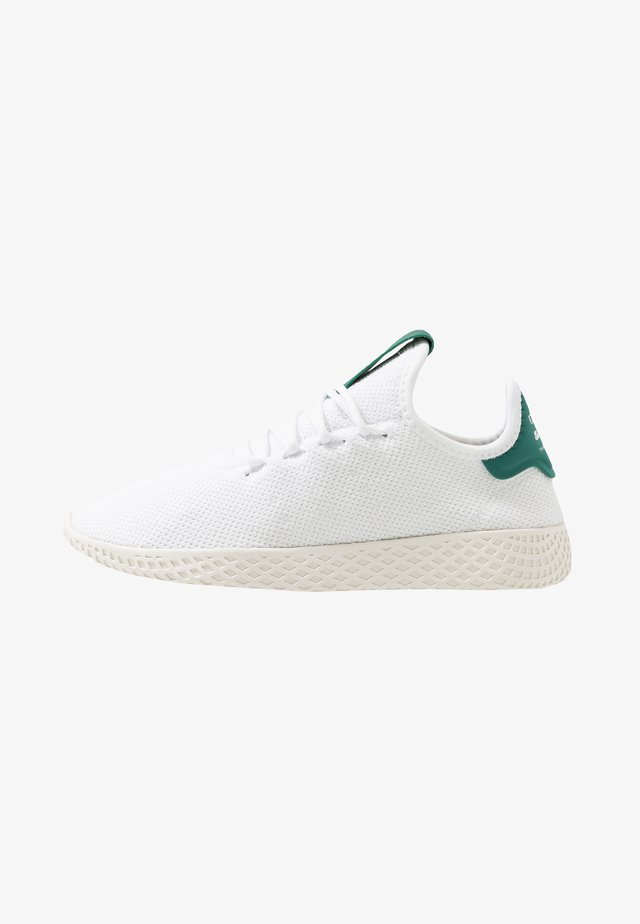 PW TENNIS HU - Tenisky - footwear white/offwhite/collegiate green