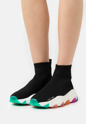 LETTIE  - High-top trainers - black