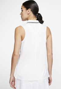 Nike Golf - DRY VICTORY - Sports shirt - white/black - 2