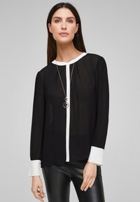 s.Oliver BLACK LABEL - Blouse - black - 0