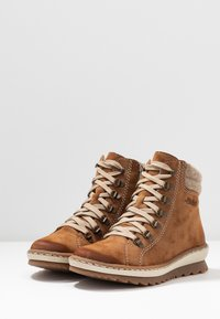 Rieker - Lace-up ankle boots - reh/wood - 4
