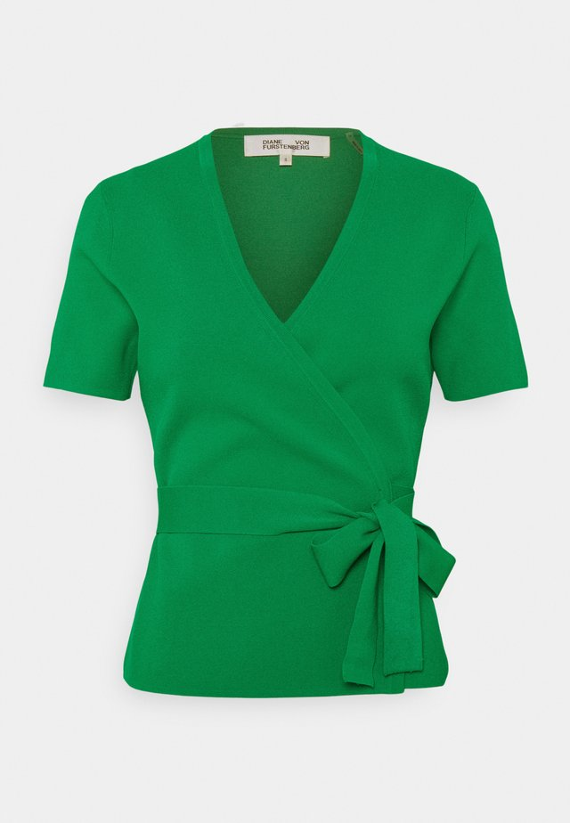 MIRELLA - Printtipaita - green