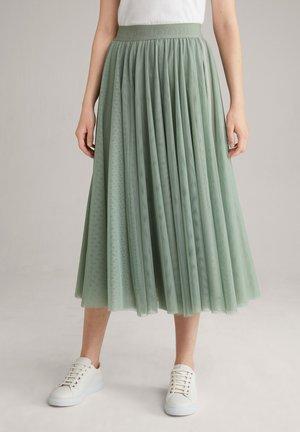 A-line skirt - mint-grün