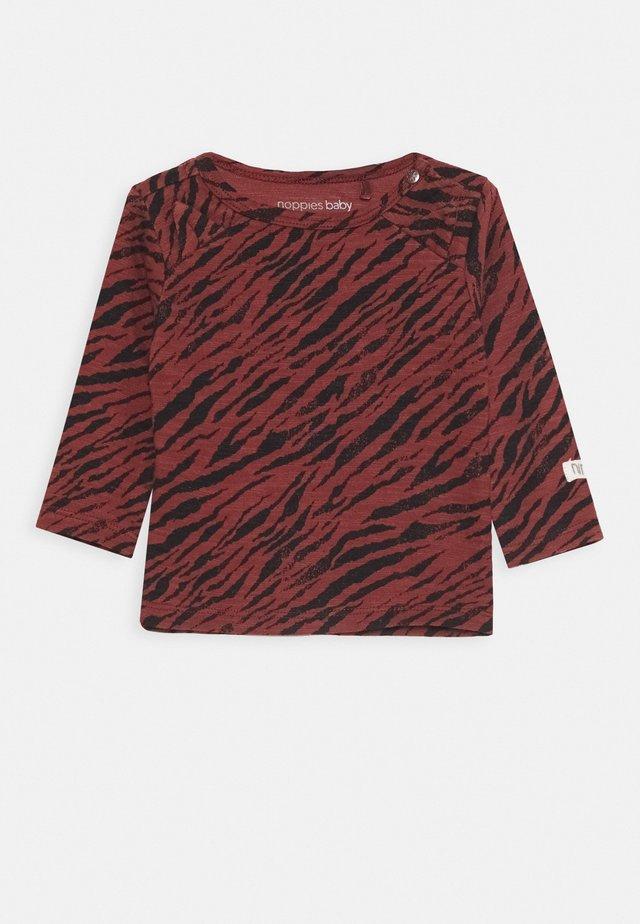 KROONSTAD  - Camiseta de manga larga - mahoganey