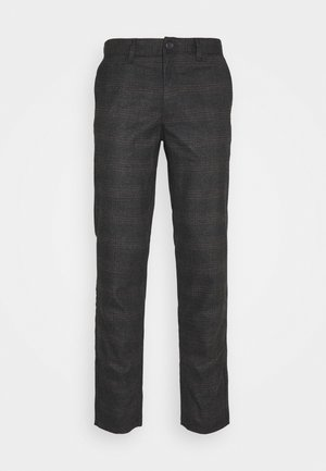 JJIROY JJWOLF CHECK  - Trousers - brown/stone