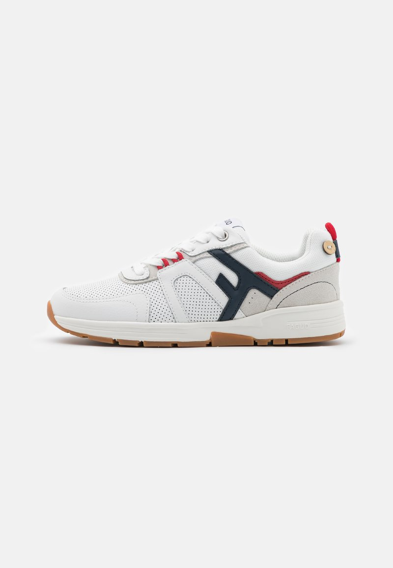 Faguo - WILLOW UNISEX - Sneakersy niskie - white/navy/red