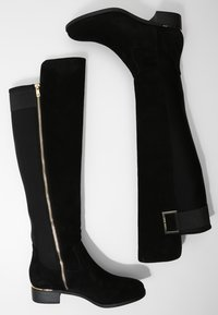 Calvin Klein - CYLAN - Over-the-knee boots - black suede - 2