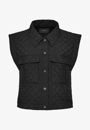 WISANE - Waistcoat - schwarz