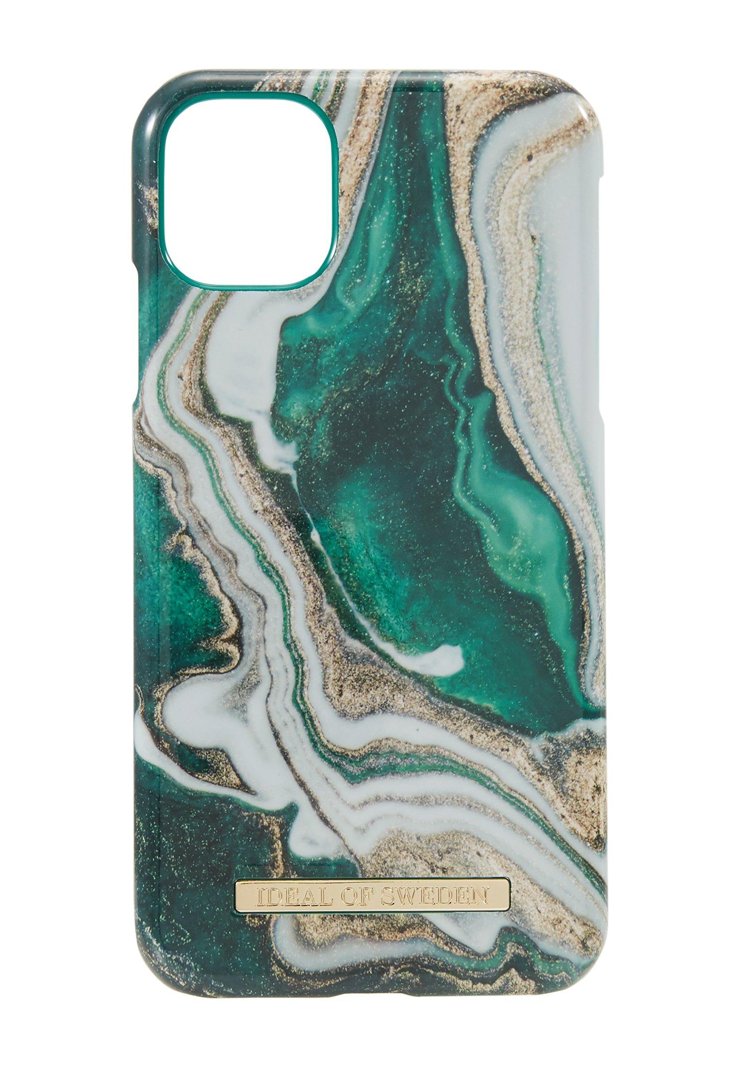 Ideal Of Sweden Fashion Case Iphone 11 - Handytasche Gold-coloured/jade/grün