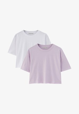 2 PACK - Basic T-shirt - light pink