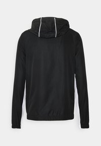Lacoste Sport - SET TENNIS TRACKSUIT HOODED - Survêtement - black/white - 3