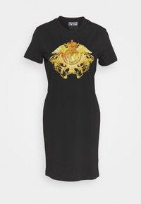Versace Jeans Couture - LADY DRESS - Jerseyjurk - black - 5