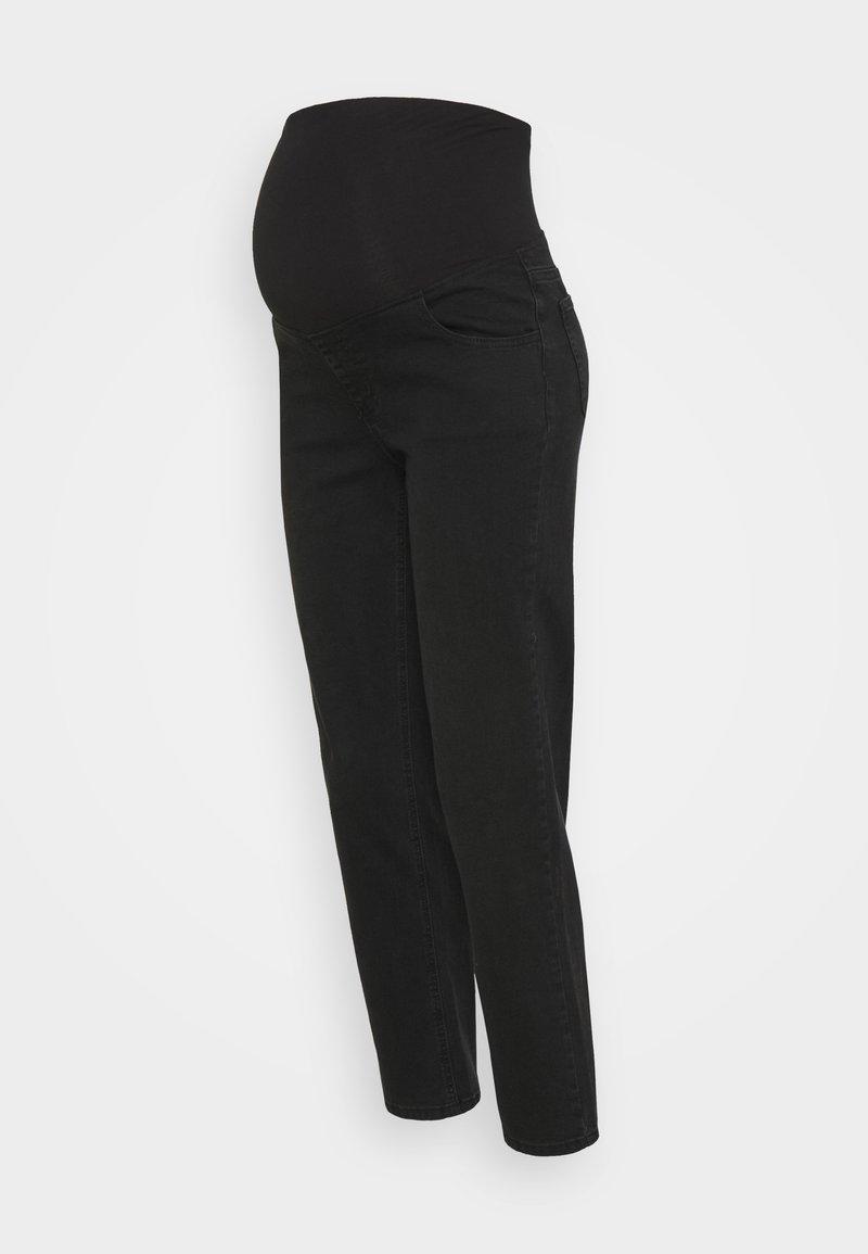 Cotton On - MATERNITY STRETCH - Straight leg jeans - stonewash black
