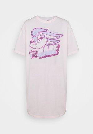 90'S TSHIRT NIGHTIE - Chemise de nuit / Nuisette - pretty pink