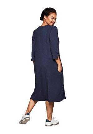 Korte jurk - nachtlila
