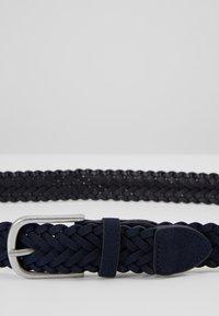 Burton Menswear London - WEAVE BELT - Pásek - navy - 4