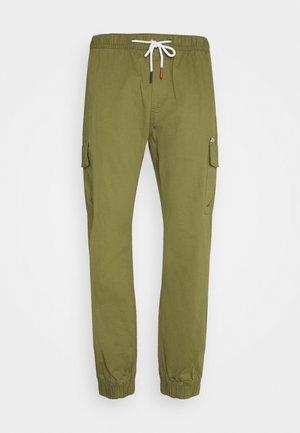 ETHAN JOGGER - Cargo trousers - uniform olive