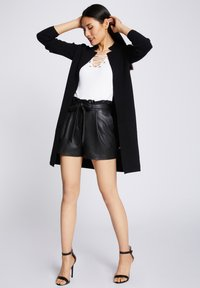 Morgan - BLOCK - Cardigan - anthracite - 1
