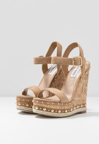 Steve Madden - MAURISA - High heeled sandals - tan - 4