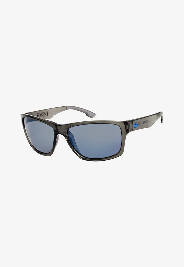 Sunglasses - shiny crystal smoke/flash blue