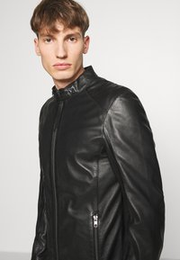 Tigha - DENZEL - Leather jacket - black - 3