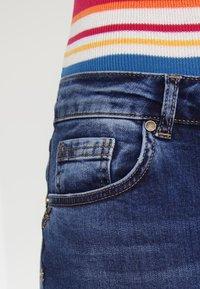 Mos Mosh - SUMNER STEP BLUE - Džíny Slim Fit - blue denim - 4