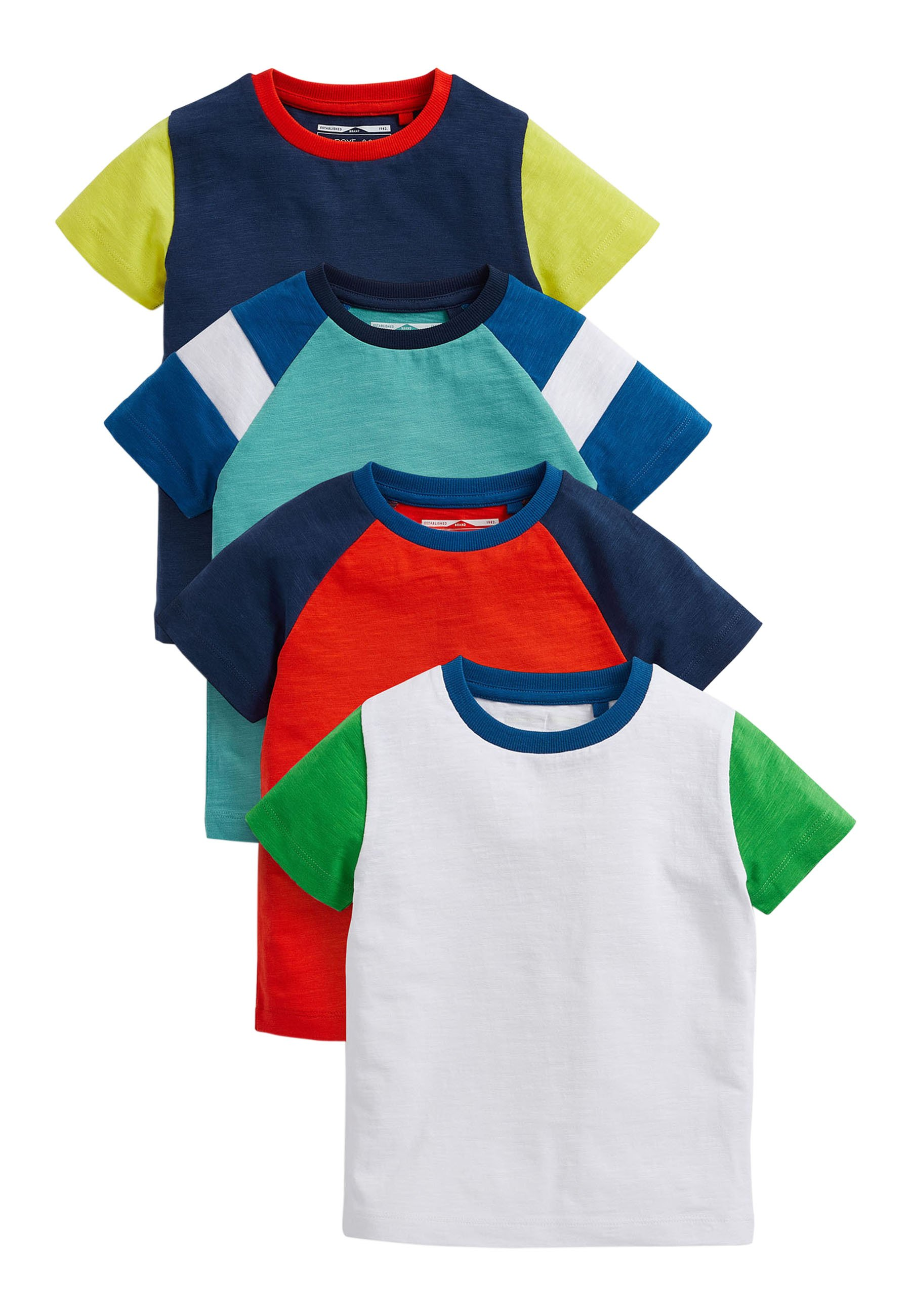 Kinder 4 PACK - T-Shirt print