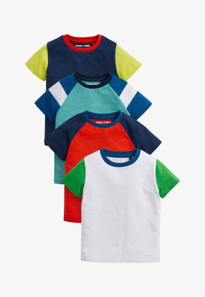 4 PACK - T-shirt con stampa - blue
