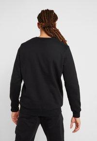 Puma - LOGO CREW - Sweatshirt - black - 2
