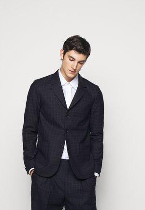 MENS JACKET UNLINED - Suit jacket - black