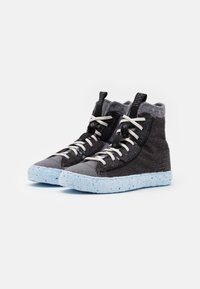 Converse - CHUCK TAYLOR ALL STAR CRATER - High-top trainers - black/dark grey/light grey - 1