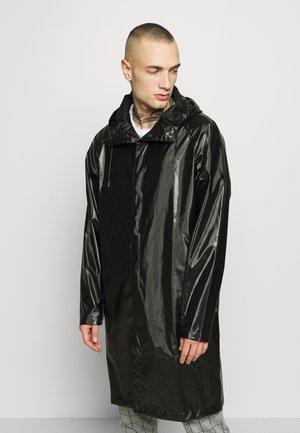 UNISEX COAT - Parka - shiny black