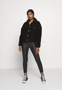 Dr.Denim Petite - PIXLEY PILE JACKET - Winter jacket - black - 1