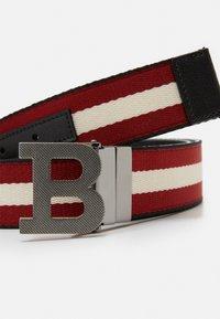 Bally - Cintura - black/bone/red - 3